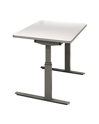 "Mayline RGE Series 8023048EH - 48"" x 30"" - 3mm Edge Height Adjustable Table ES6612"