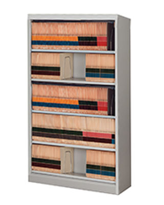 Mayline FFN5 - High Density Flip 'N File 5 Tier Cabinet without Doors ES6628