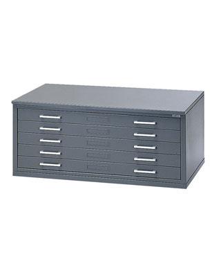 Mayline Hamilton Unit System 5-Drawer Flat File - 1J15 ...