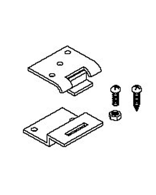 Mayline Replacement Hinge Kit for Steel Drafting Tables 10110