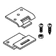 Mayline Replacement Hinge Kit for Steel Drafting Tables 10110 ES1333