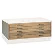 Mayline Wood Plan File Label Holder 10544 (2 Colors Available) ES1383