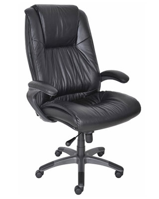Mayline Ultimo Leather Series 100 High-Back Chair ULEX