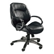 Mayline Ultimo Leather Series 100 Mid-Back Chair ULMGR