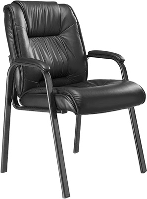 Mayline Ultimo Leather Series 100 Guest Chair ULGST