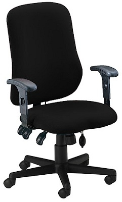 Mayline Comfort Series Contoured Support Chair 4019AG