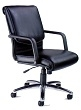 Mayline Mercado Alliance Chair ALBLK (Black Leather) ES4366