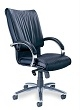 Mayline President Chair PRBLK (Black Leather) ES4371
