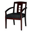 Mayline Mercado VSC2A Series Guest Chair VSC2ABCRY (Box of 2 Chairs - Sierra Cherry Frame) ES4380