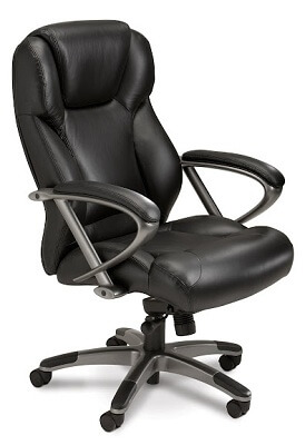 Mayline Ultimo Leather Series 300 High-Back Chair UL350H ES4392