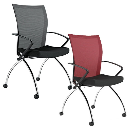 Mayline Valore Series High-Back Chair with Arms - TSH1 (2 Colors Available)