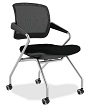 Mayline Valore Series Mid-Back Chair TSM2 (2 Chairs - 3 Colors Available) ES4404