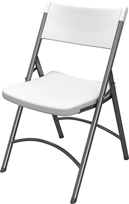 Mayline Event Series Heavy-Duty Folding Chair 5000FC