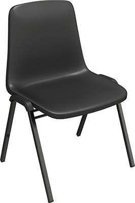 Mayline Event Series One Piece Stacking Chair 6310SC