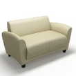 Mayline Santa Cruz Series Lounge Settee VCC2 (2 Colors Available) ES5234