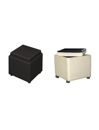 Santa Cruz Lounge Series Storage Ottoman ES5236