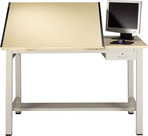 Mayline Portable Drafting Table Dew Exclusive .