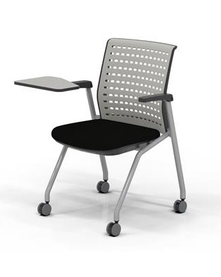Mayline KTS3 - Thesis Stacking and Nesting Training Chair with Tablet ES6673