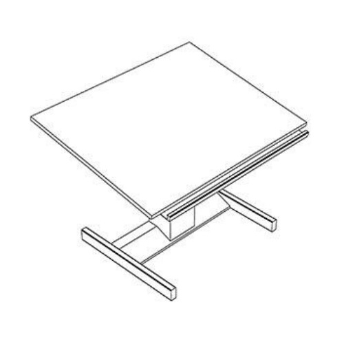 "Mayline 20628R3 - 60"" Light Tabletop for Futur-Matic Base ES8054"