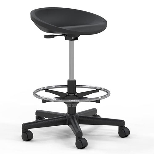 Mayline 6005AG - Technical Height Adjustable Swivel Stool