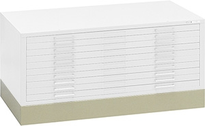"Mayline C-File 4"" Flush Base for 36"" x 48"" Sheet Flat File 7869W"