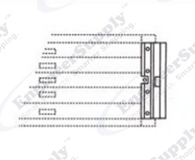 Mayline C-File Flat File Lock Kit 90J006
