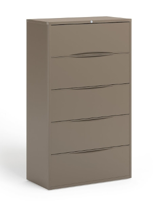 "Mayline 42""W 5 Drawer Lateral File ES5240"