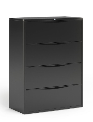 "Mayline 42""W 4 Drawer Lateral File ES5242"