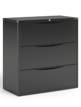 "Mayline 36""W 3 Drawer Lateral File ES5245"