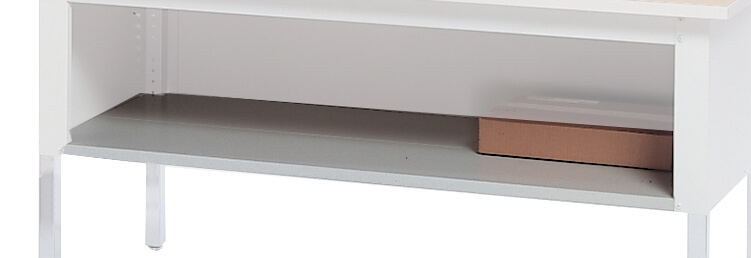 "Mayline Mailflow-To-Go 48"" Shelf for Work Table SLF48PG ES5322"