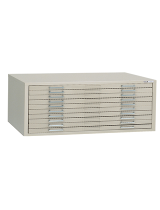 Mayline 10-Drawer Museum File 7677 (5 Colors Available) ES5501