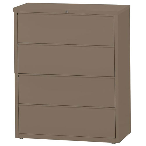 "Mayline HLT424 - CSII 4 Drawer Lateral File 42"" Width (4 Colors Available) ES8039"