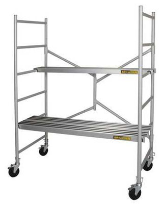 MetalTech I-CAIRC - Alu Series 6 Mobile Aluminum Folding Scaffold