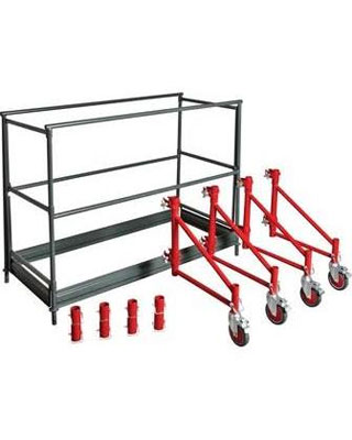 MetalTech I-BM6SK - Buildman Series Guardrails and Outriggers System
