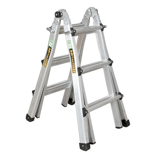 MetalTech E-MTL7000AL - 13 ft Telescoping Multi-Position Ladder