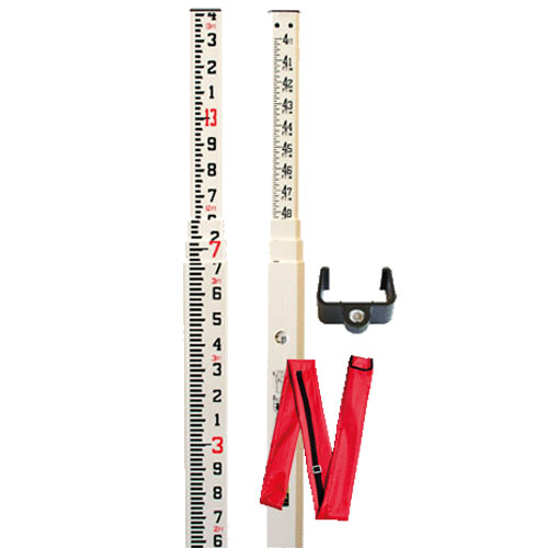 Nedo 13' Fiberglass Leveling Rod (2 Models Available)