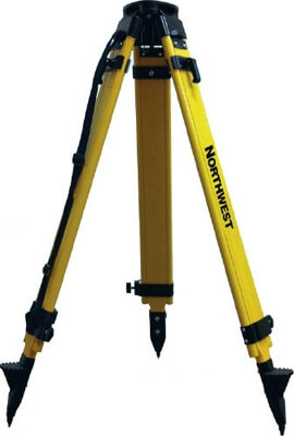 Northwest Instrument Heavy-Duty Wood and Fiberglass Tripod with Dual Clamps NWFT100A