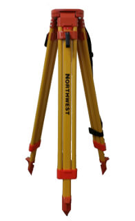 Northwest Instrument Contractor's Aluminum Tripod with Quick Clamps NAT93