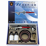 Paasche AirBrush H Series Three Head Airbrush Set - H-SET ET10348