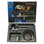 Paasche Airbrush Raptor Series Double Action Airbrush Kit - RG-3S ET10350