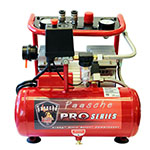 Paasche AirBrush 3/4 HP Oil-less Compressor with Tank - DC850R ET10356