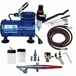 Paasche AirBrush H Series Compressor and Airbrush Kit - H-100D ET10358