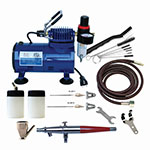 Paasche AirBrush VL Series Compressor and Airbrush Kit - VL-100D ET10359