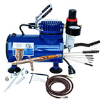 Paasche AirBrush Talon Series Compressor and Airbrush Kit - TG-100D ET10360