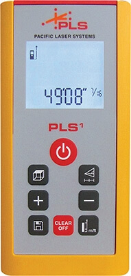 Pacific Laser Systems PLS1 Laser Distance Measurement Tool (PLS-20984)