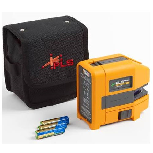 Pacific Laser Systems Green Cross Line Laser Level - PLS-180G-Z