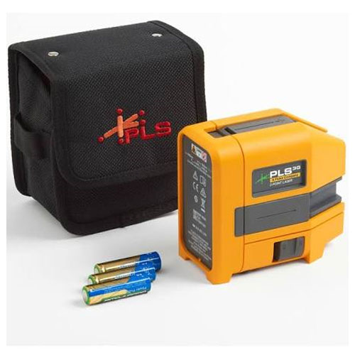 Pacific Laser Systems Green Three-Point Laser Level - PLS-3G-Z