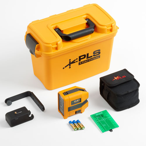 Pacific Laser Systems Green Three-Point Laser Level Kit - PLS-3G-KIT