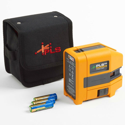 Pacific Laser Systems Green Five-Point Laser Level - PLS-5G-Z
