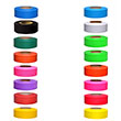Presco Taffeta Solid Color Roll Flagging (Dozen Rolls - 16 Colors Available) ES4192